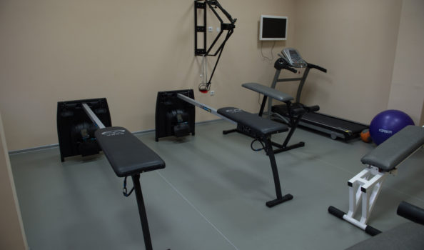 Фитнес зала за професионалисти