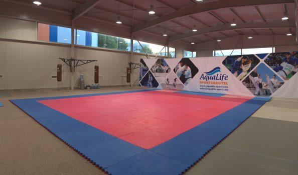 Комбинирана зала за бойни изкуства и спортни игри