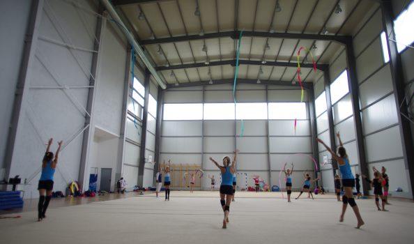Голяма многофункционална спортна зала