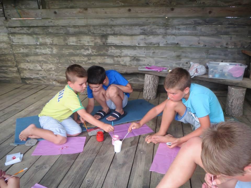 детски лагер край морето
